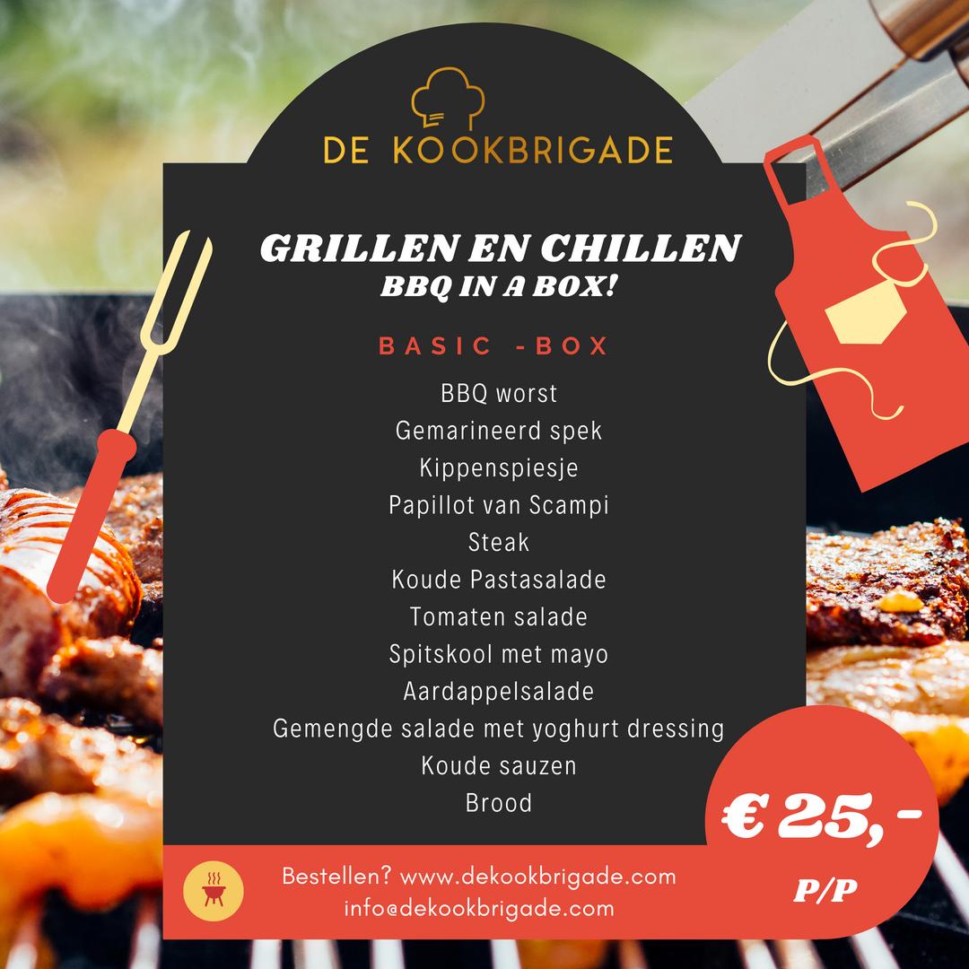 Familiefeesten - koud & warm buffet - De Kookbrigade