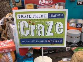 Spring CRAZE Sale Returns to Glen Mills Store
