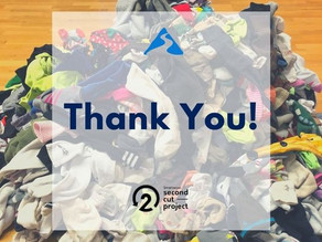 Trail Creek Outfitters Collects 66 lbs. of Socks for Smartwool Second Cut Project