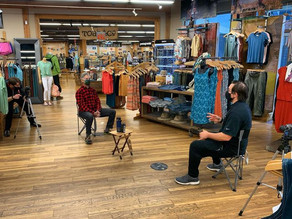Trail Creek Outfitters featured in AstraZeneca Fitness Program