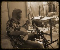 Fred Glas en Studio