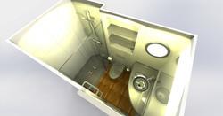 Salle d'eau préfabriquée