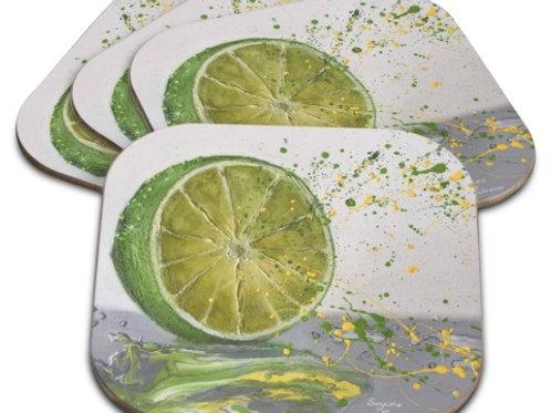Sous-verres Citron-limette