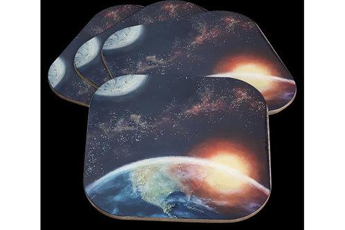 Sous-verres Art Galactique