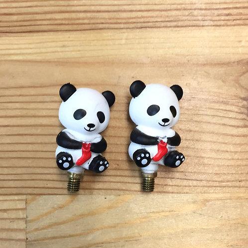 hiya hiya panda large topes de cables