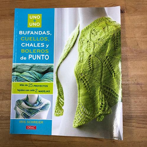Bufandas, cuellos,chales y boleros de punto