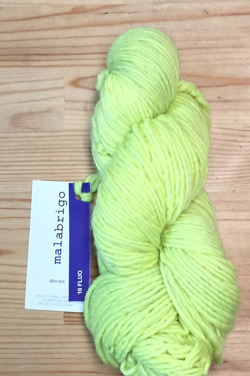 WORSTED fluo 10