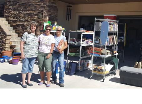 Garage Sale Benefitting BHH raised $530