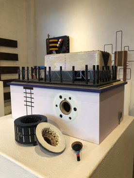 Francisco Gabuardy,  Outsource  Multicomponent box, detail