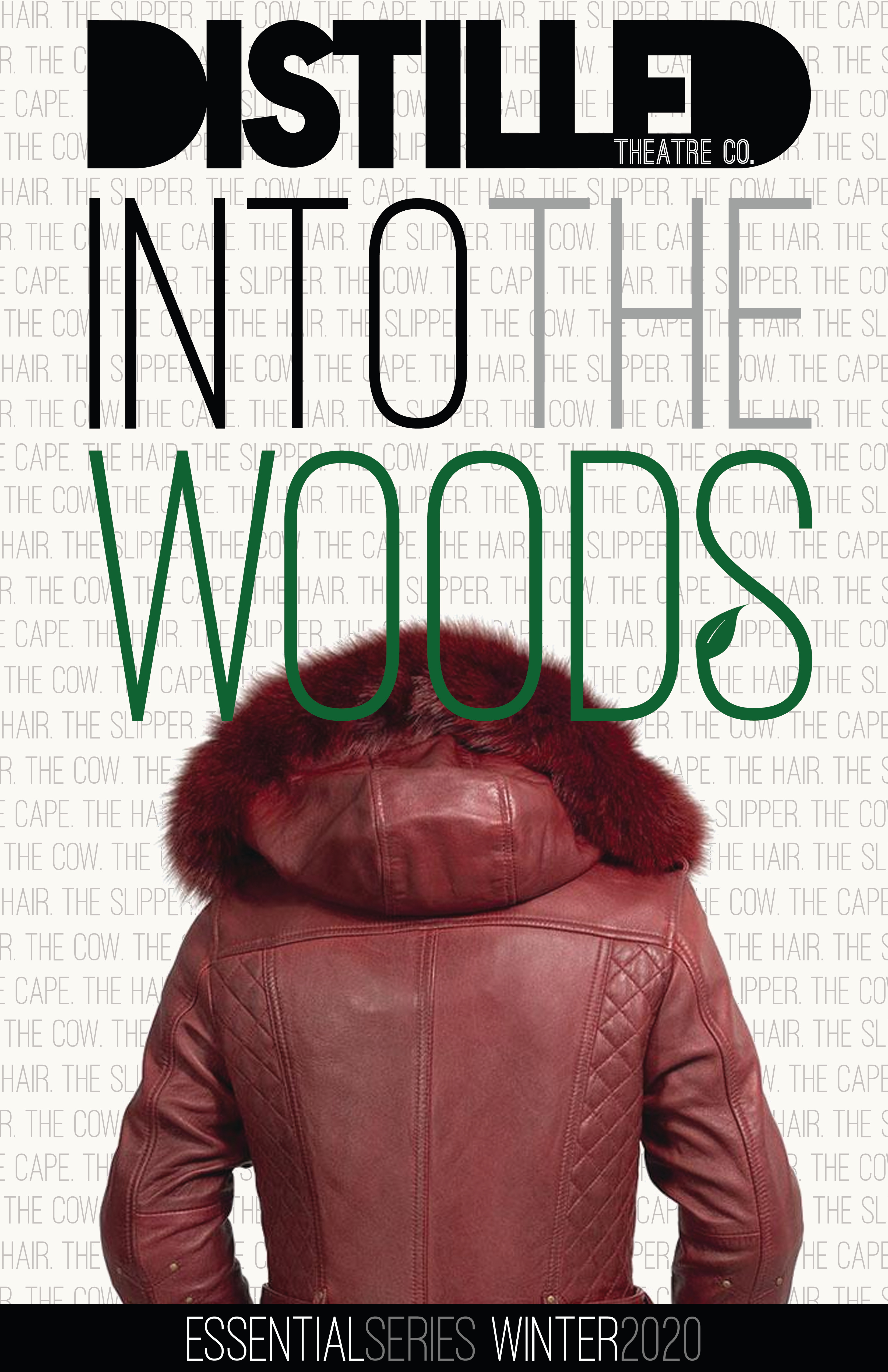 Into the Woods Poster Cape