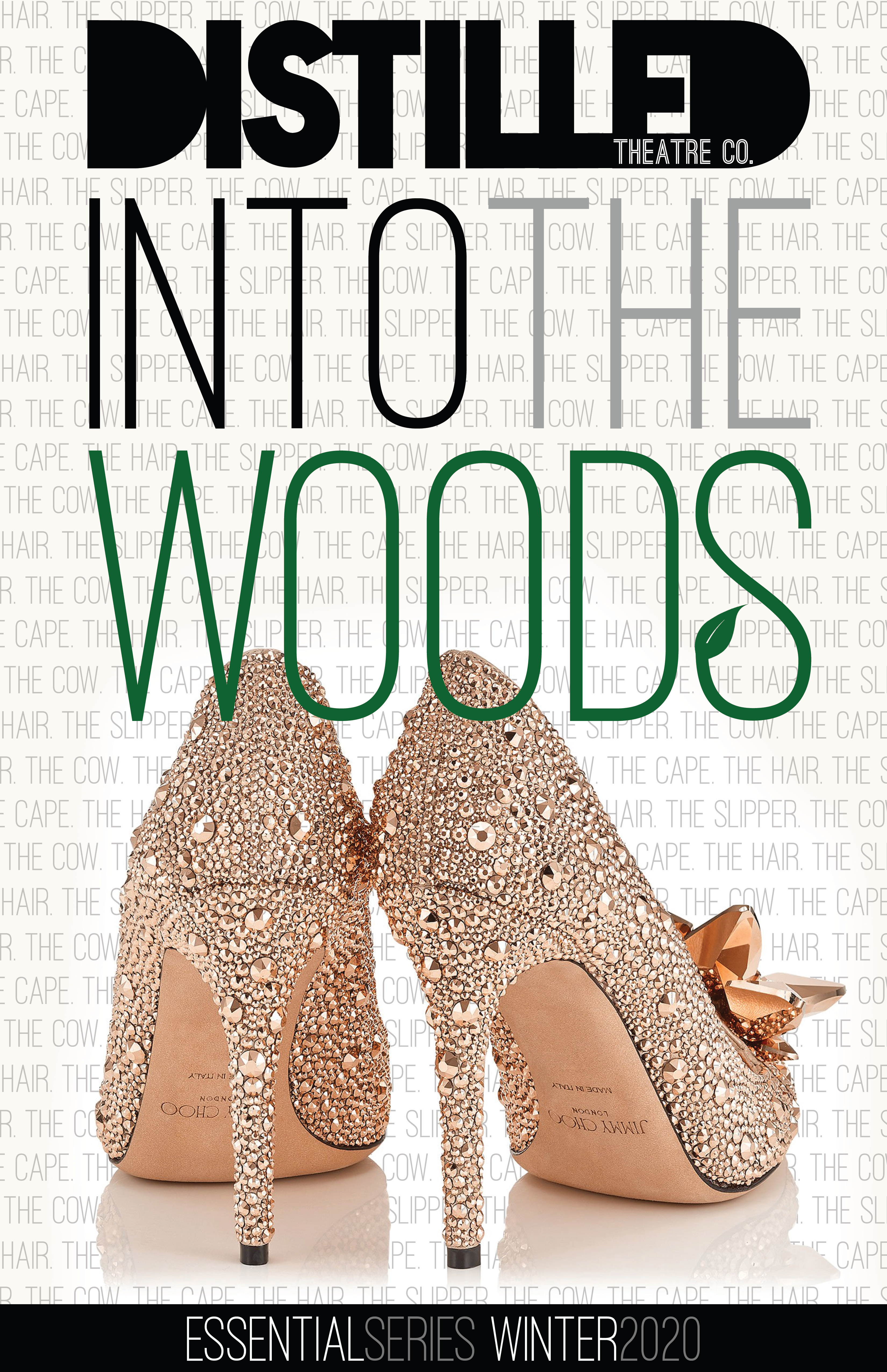 Into the Woods Poster Slipper