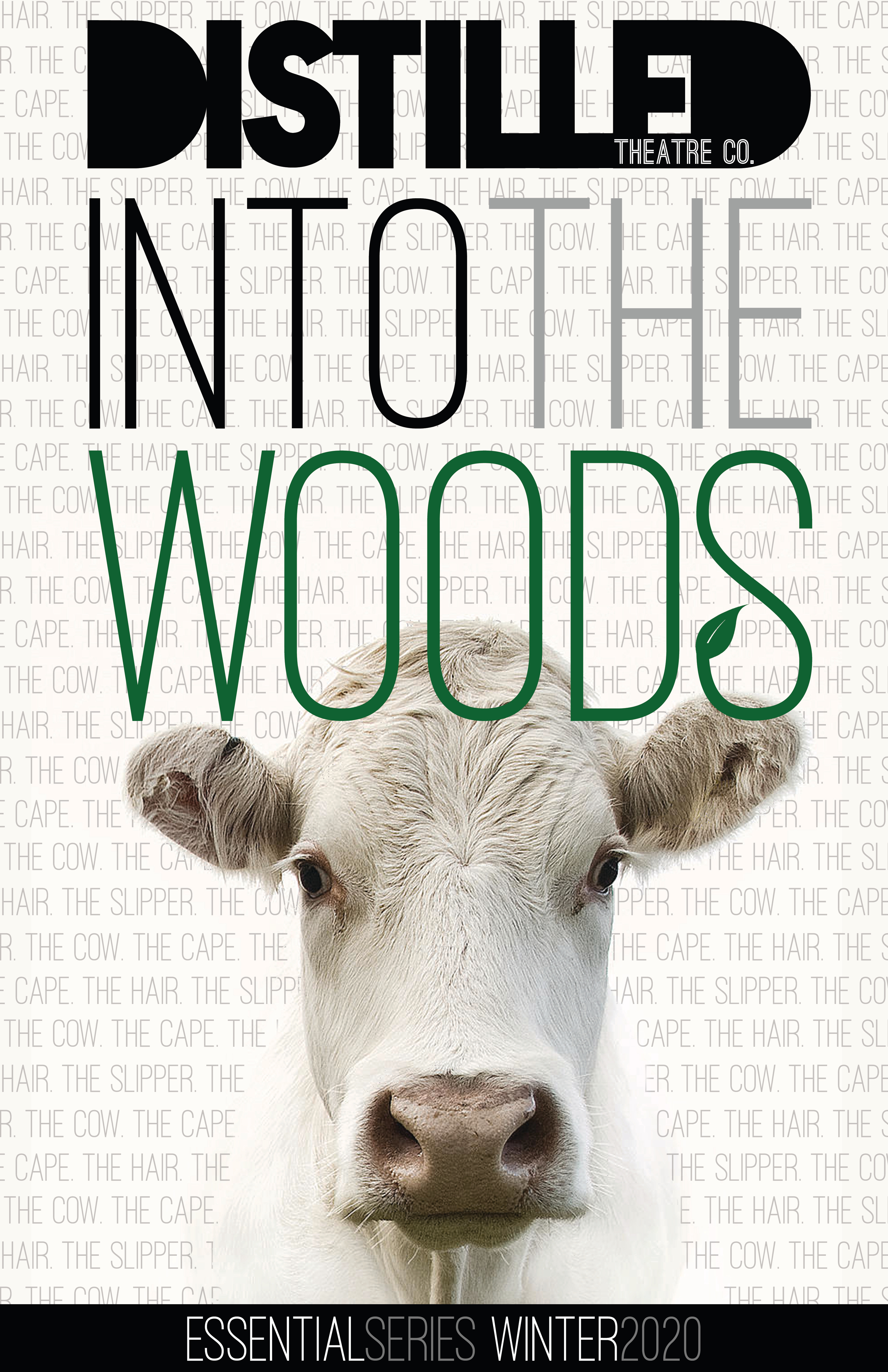 Into the Woods Poster Cow
