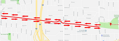 5k Run Walk Route