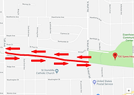 1 mile Fun Run Route