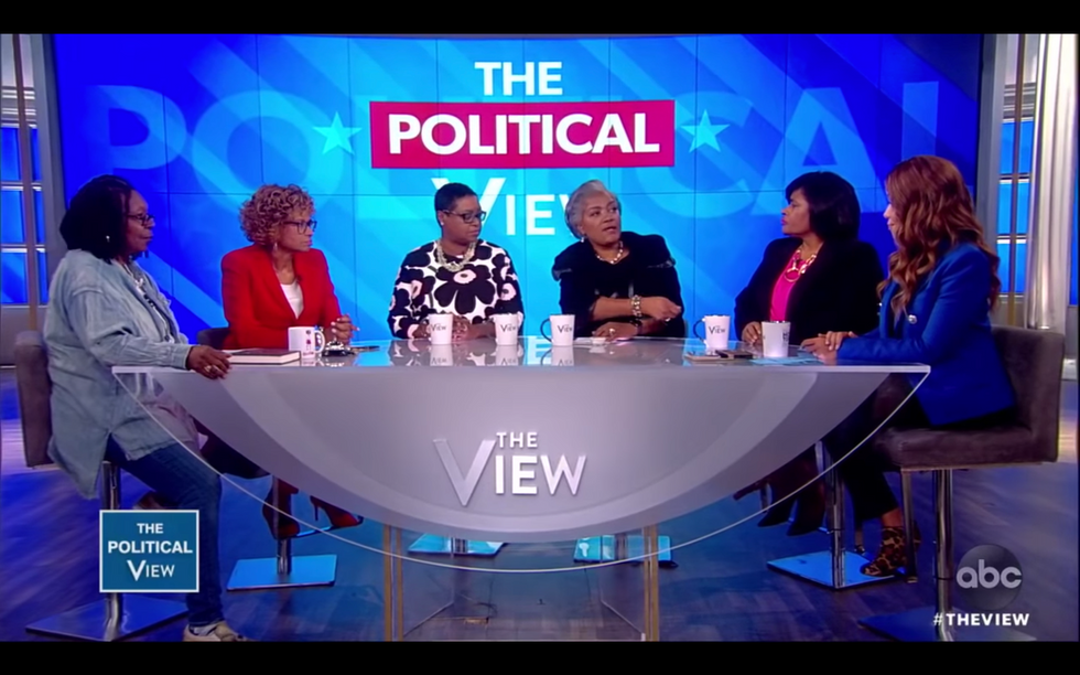 Authors of 'For Colored Girls Who Have Considered Politics' join 'The View'