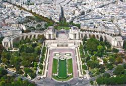 França - Paris, da Torre Eiffel