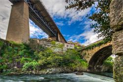 Pontes sobre o Rio Corgo