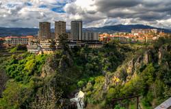 Vila Real e o rio Corgo