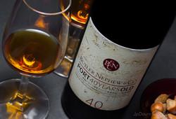 Fotografia de vinhos, composição
