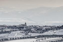 Celeirós do Douro em dia de neve