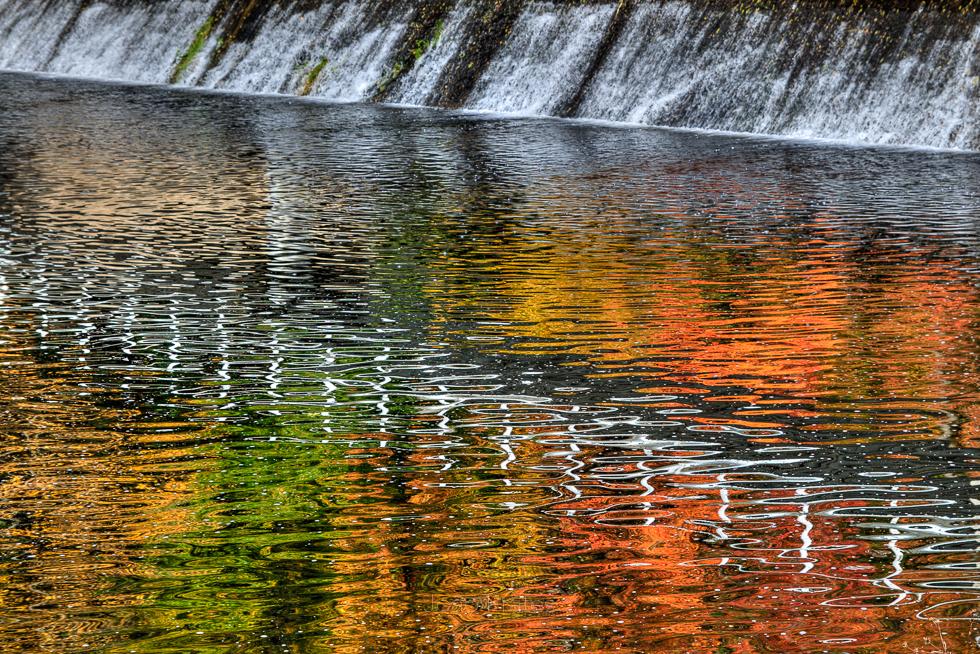 Cores de Outono no Rio Corgo