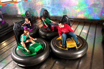 bumper cars kenosha, kenosha family fun, arcade and bumper cars kenosha