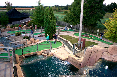 kenosha adventure golf, mini golf in kenosha