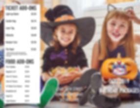 october birthday specials, october brochure, america's action territory