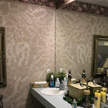 BEFORE- Women's Restroom