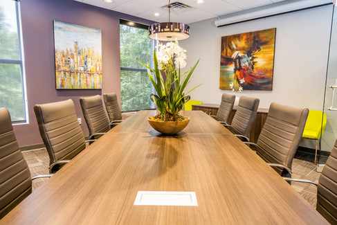 Conference Room- Custom Table