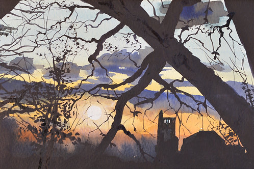 Sunset Silhouette No. 2