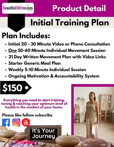 Product Description-Initial Training Pla