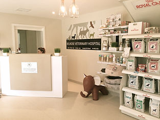 A purpose built clinic catering to large and small animals