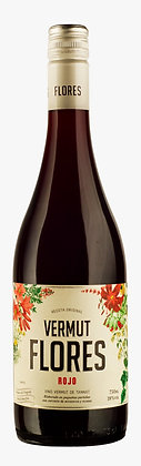Vino Vermut Flores Rojo 750 mL