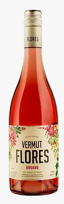 Vino Vermut Flores Rosado 750 mL