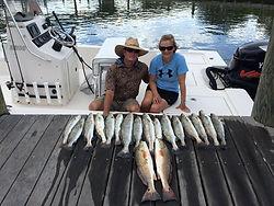 6-hour inshore fishing charter fairhope