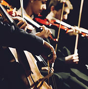 String Quartet Church is like a Symphony