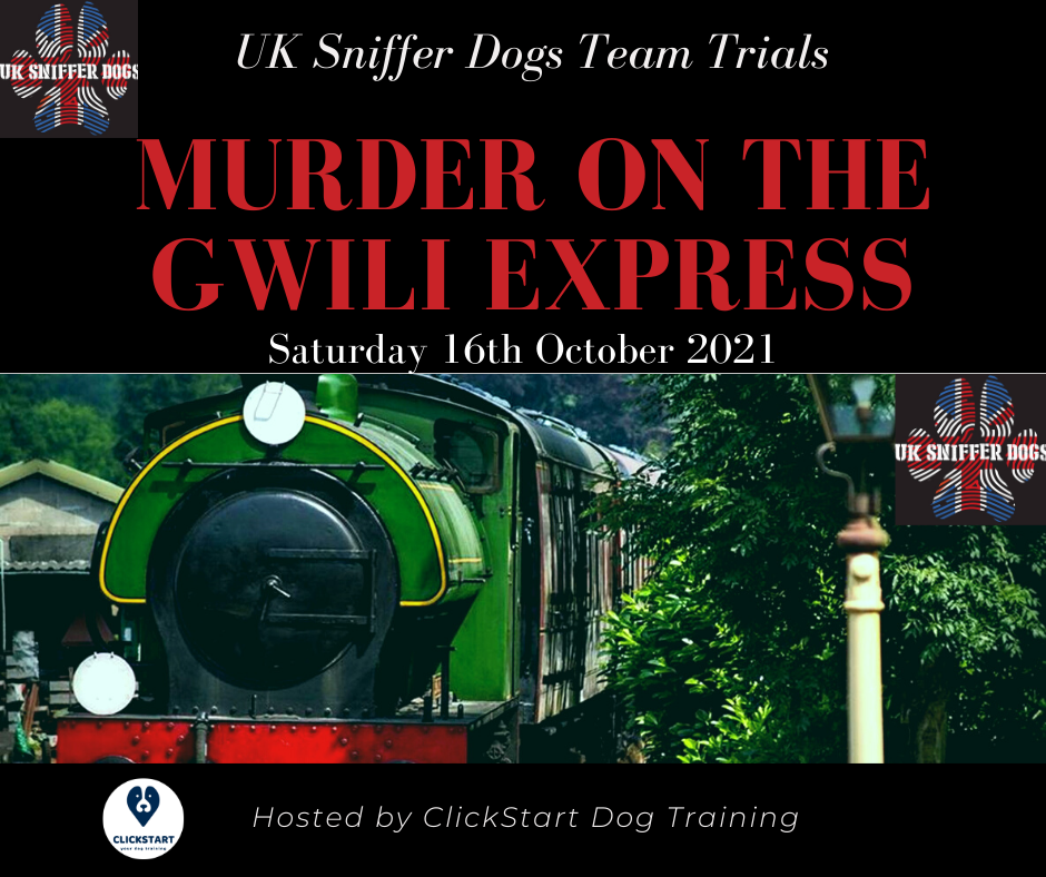 UK Sniffer Dogs Team Trials