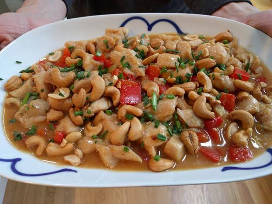 Chinese Cashew Chicken Stir Fry Recipe
