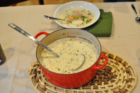 A Delicious Recipe for Salmon Chowder-Tonight's Family Meal