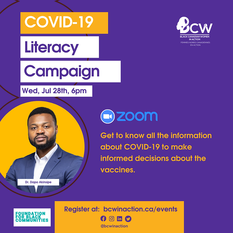 Information Session on Covid-19 and Vaccines
