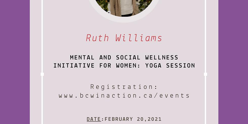 Mental and Social Wellness Initiative: Yoga Session