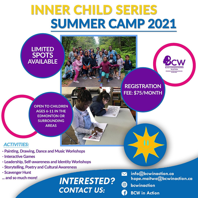 Inner Child Series Summer Camp 2021!