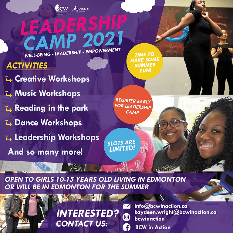 Leadership Camp 2021!