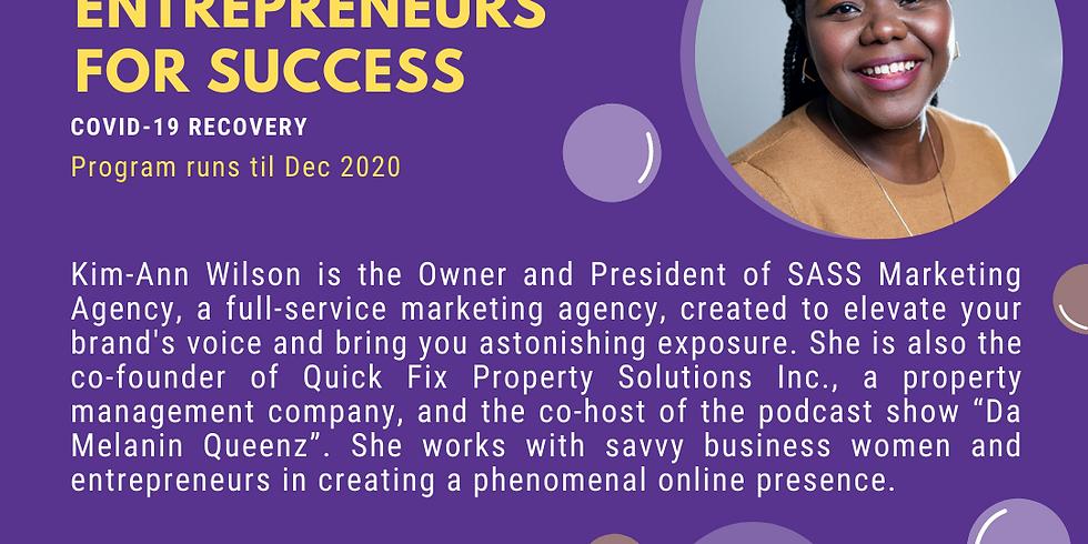 Connecting Black Female Entrepreneurs for Success Workshop