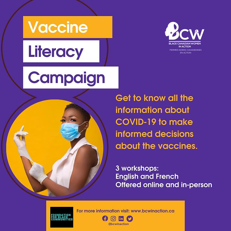COVID-19 Vaccine Literacy Campaign