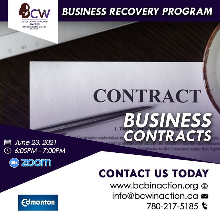 Business Program - Business Contracts