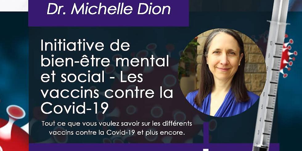 Initiative de bien-être mental et social - Les vaccins contre la Covid-19