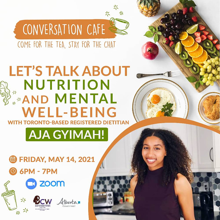 Conversation Café: Let's Talk about Nutrition and Mental Well-being
