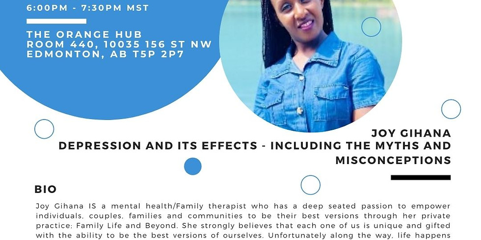 Well-being Conversation Café: Depression and Its Effects
